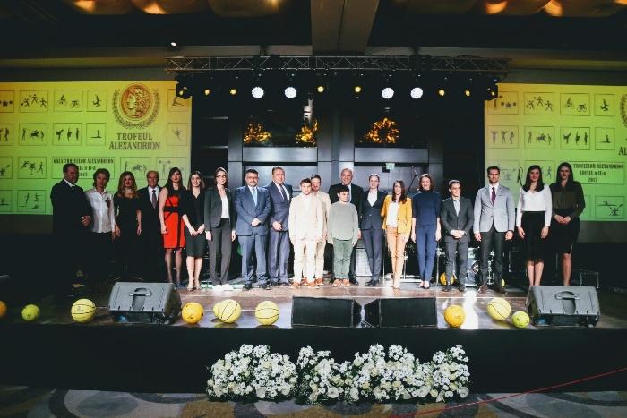 Fundaţia Alexandrion a organizat a doua ediţie a Galei Trofeelor Alexandrion, dedicată performanţei în sport